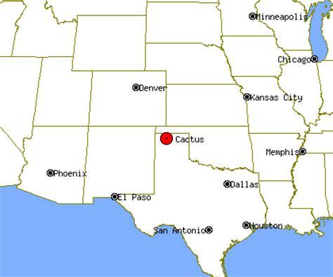 cactus texas map cactus profile cactus tx population crime map