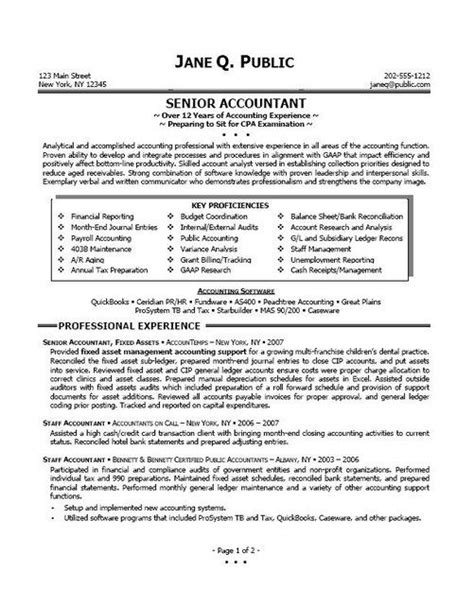 11 best best accountant resume templates sles images