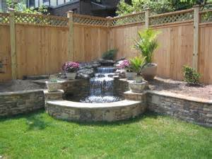 Backyard Water Ideas 25 Best Ideas About Backyard Water Feature On