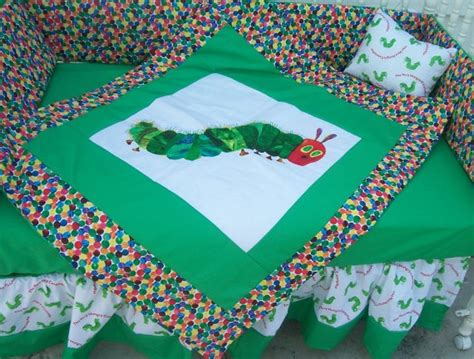 Eric Carle Crib Bedding 1000 Images About Baby Sewing On Pinterest Hungry Caterpillar The And Hungry