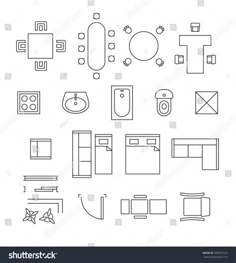 interior design symbols amazing floor plan decors