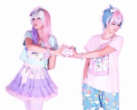 pastel goth boy girl 17 images about lolita fairy kei kawaii on pinterest