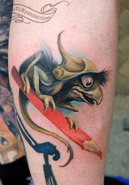 troll tattoo brian froud s troll by oleg turyanskiy tattoos
