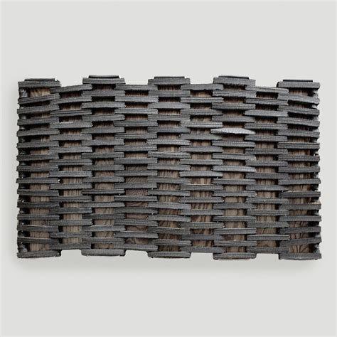 Recycled Doormat recycled rubber doormat world market
