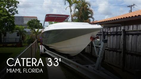 used pontoon boats for sale in miami for sale used 2003 catera 33 open fisherman in miami
