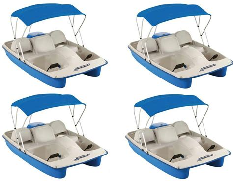 asl electric pedal boat water wheeler asl e pedal boat 4 pack