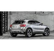 Mercedes Benz GLA Concept Officially Revealed  Photos 1