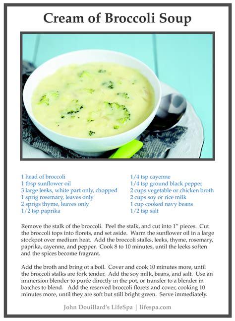 Detox Coconut And Broccoli Soup by Of Broccoli Soup Recipe With Coconut Milk Recipe