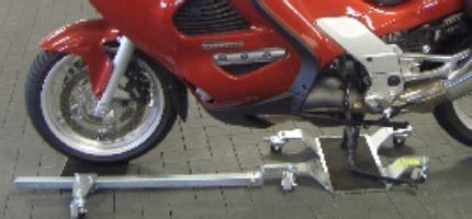 Motorrad In Garage Rangieren by Rangieren