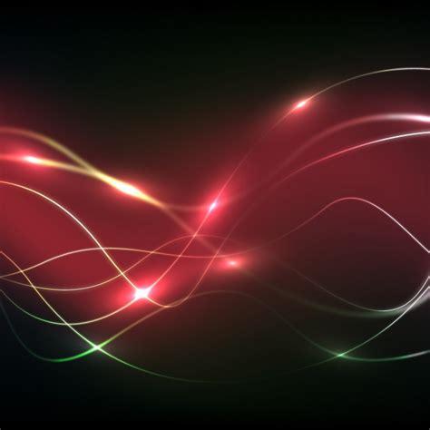 cuando se fundo la roja fondo de ondas rojas de electricidad descargar vectores