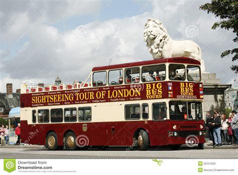 Open-top City Tour Bus, London Editorial Stock Photo ...