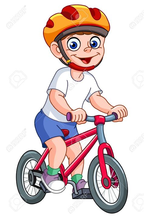 tricycle cartoon bike clipart his pencil and in color bike clipart his