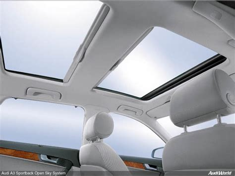 how to remove sunroof console 2006 audi a3 audi a3 sportback with open sky system audiworld