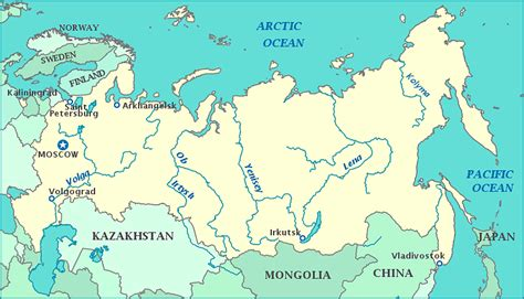 map of russia with cities rivers and mountains so santa russia s reasons for arctic antics the