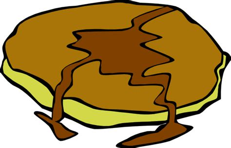 pancake clipart pancake with syrup clip at clker vector clip
