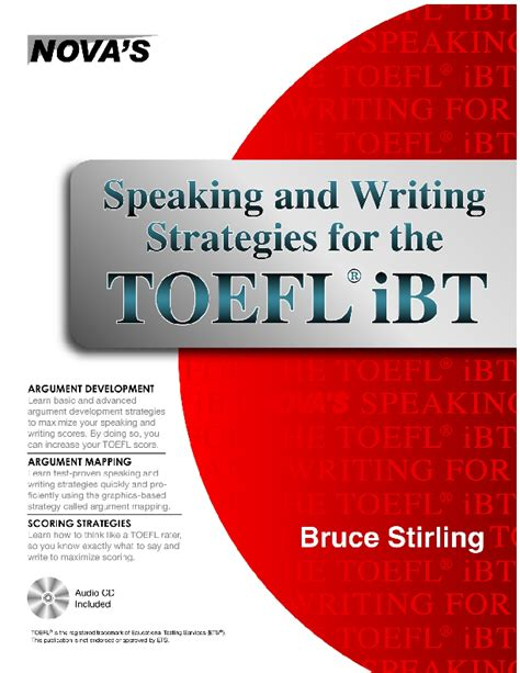 speaking and writing strategies for the toefl ibt by bruce