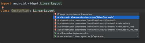 layoutinflater in kotlin kotlin android extensions 与 findviewbyid 说再见 kad 04