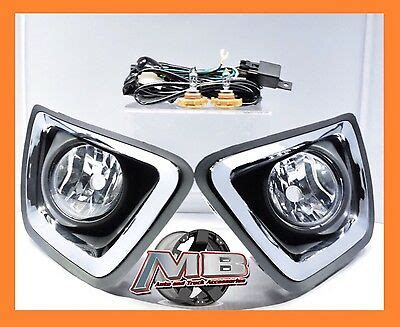 2015 2017 Chevy Colorado Replacement Complete Fog Lights