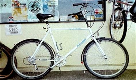 convert mountain bike to comfort bike before and after shots