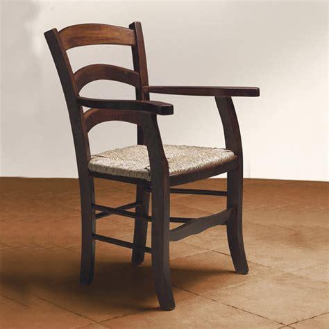 sedie capotavola sedia capotavola con braccioli in legno di faggio tinto