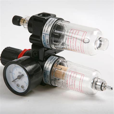 air pressure regulator water separator trap filter airbrush compressor