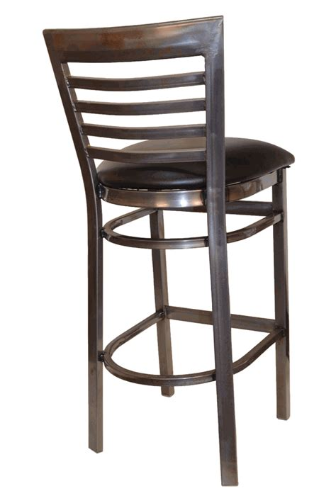 east coast bar stool gladiator rustic brown ladder back closeout gladiator clear coat full ladder back metal bar