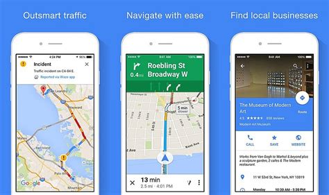 google maps  ios update brings apple  support