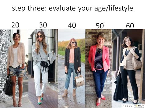 7 Tips On How To Dress Your Age by Finding Your Signature Style Hello Honey