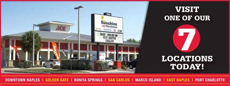 ace hardware naples fl sunshine ace hardware family owned serving southwest fl