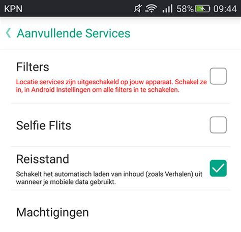 snapchat android app snapchat reismodus vermindert dataverbruik android app
