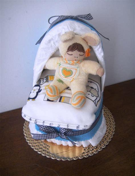 culla di pannolini culla di pannolini baby boy mini culla con bavaglino per