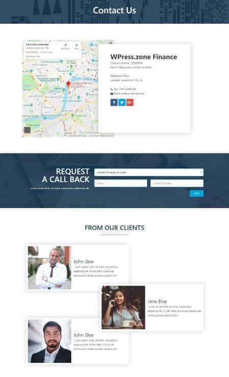 Katka Pages Contact Us Page Template