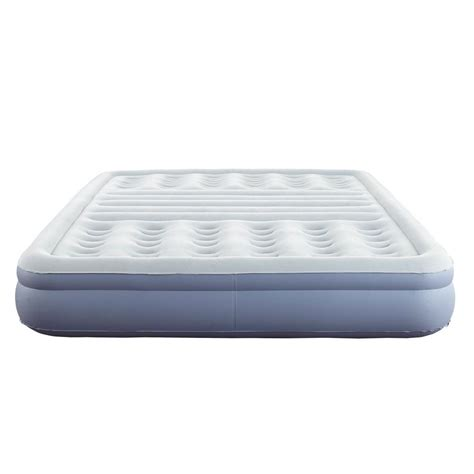 thomasville 12 in size lumbar lift express tri zone support raised air bed mattress with
