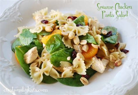 chicken pasta salad recipe 20 yummy main dish salad recipes