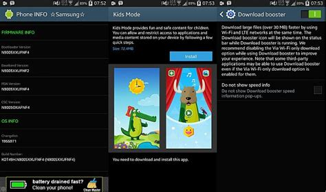 download game mod galaxy young samsung galaxy note 3 receiving firmware update with knox