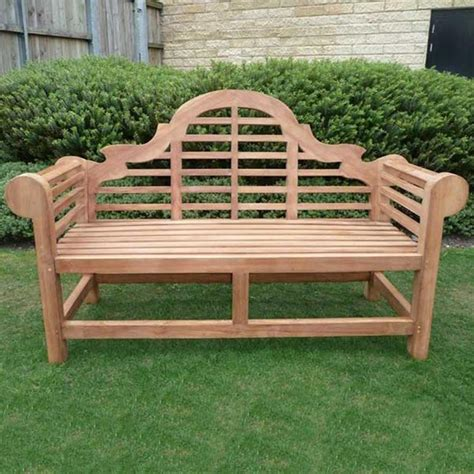 garden bench seats marlborough lutyens 4 seat teak garden bench internet