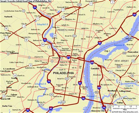 zip code map of philadelphia map of philadelphia pennsylvania travelsmaps com