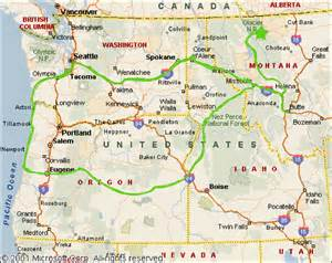 map of national parks in northwest us the great american summer northwest edition unbelievab ly