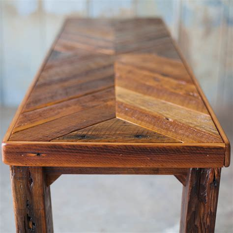 reclaimed wood table reclaimed wood sofa table reclaimed wood farm table