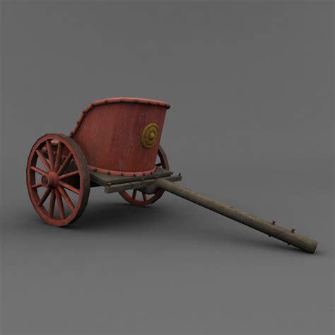 chariot wagen chariot 3d max