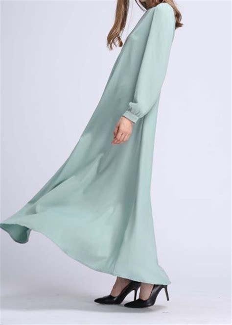 Dress Denim Baju Denim Longshirt Look Murah norzi beautilicious house nbh0500 itidal jubah maternity