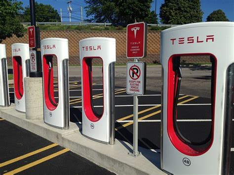 tesla charging stations boston tesla s supercharger network expands to boston and chicago