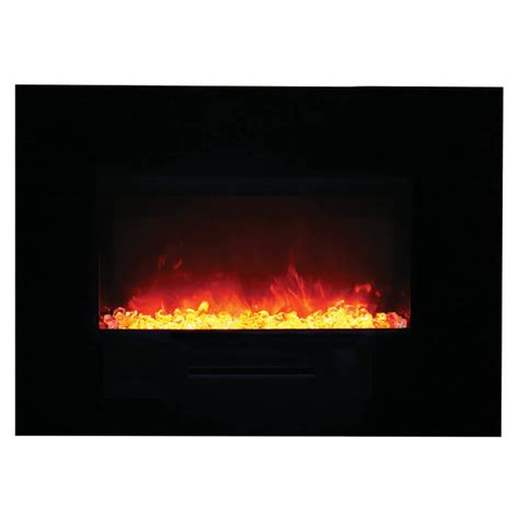 Flush Electric Fireplace by Amantii 26 Quot Wm Fm 26 3623 Bg Wall Mount Flush Mount Electric Fireplace Electric Fireplaces