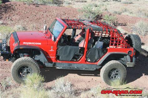 Jeep Wrangler Door Nets Installing Aspen Cargo Nets And Bestop Element Doors