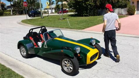 sell used caterham lotus seven de dion in safety