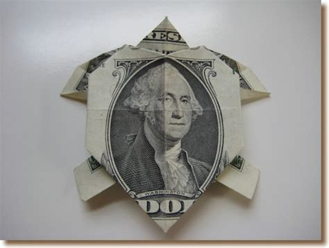 Money Origami Turtle - turtle pirtleinsurance