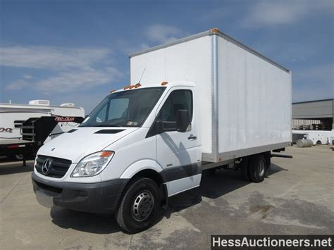 used 2012 mercedes 3500 sprinter box truck for