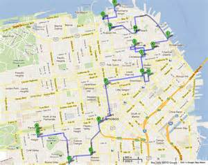 san francisco map travel maps update 21051488 tourist attractions map in san
