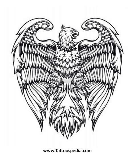 eagle and cross tattoo designs cross eagle designs 1