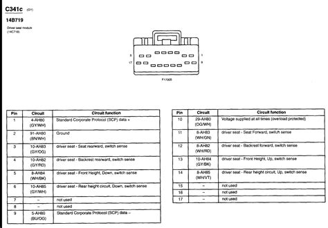 lincoln ls seat wiring diagram 30 wiring diagram images